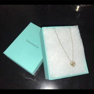 Tiffany & Co. knot necklace